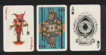 Advertising playing cards P.O. Shipping Line, Neptun